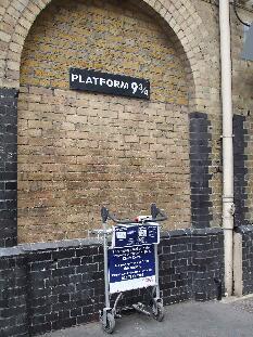 ロンドンキングズクロス駅